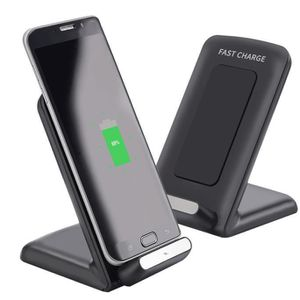 CHARGEUR TÉLÉPHONE Qi Fast Wireless Charger Support de charge rapide