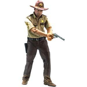 FIGURINE - PERSONNAGE Figurine Walking Dead - Rick Grimes Sheriff Exclus