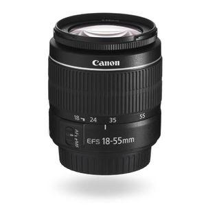 APPAREIL PHOTO RÉFLEX Canon EOS 4000D + 18-55 DC + 75-300 DC Boîtier d'a