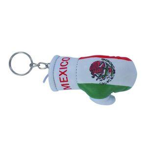 PORTE-CLÉS Porte cles  gant de boxe drapeau mexique