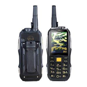 Téléphone portable TEMPSA 19800 mAh 2 Sim Téléphone Mobile Étanche An