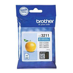 CARTOUCHE IMPRIMANTE Brother LC-3211C 200pages Cyan cartouche d'encre -
