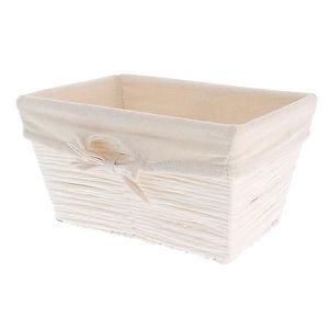 CASIER POUR MEUBLE Panier papier blanc Kimo