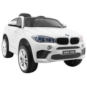 VOITURE ELECTRIQUE ENFANT EROAD - Voiture électrique BMW X6 M  Blanc modèle