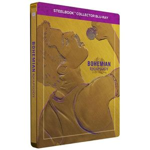 BLU-RAY FILM Bohemian Rhapsody Steelbook Bluray 4K