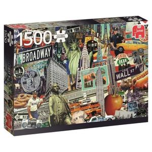 PUZZLE Puzzle 1500 Pièces - BEST OF NEW YORK - Jumbo