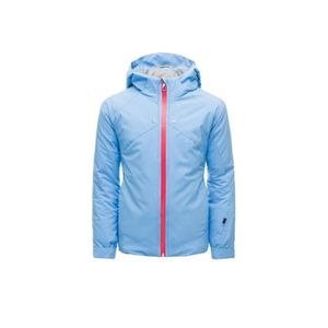 BLOUSON DE SKI Veste Ski Fille SPYDER tresh bleu-rose jacket 1045