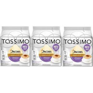 CAFÉ TASSIMO Jacobs Cappuccino Choco 24 Dosettes