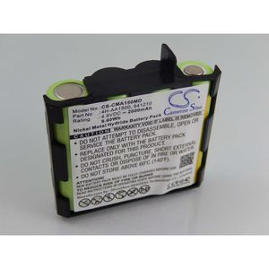 Batterie pour appareils /électrom/énagers 4,8V Powery Batterie pour /électrostimulateur Compex Vitality NiMH