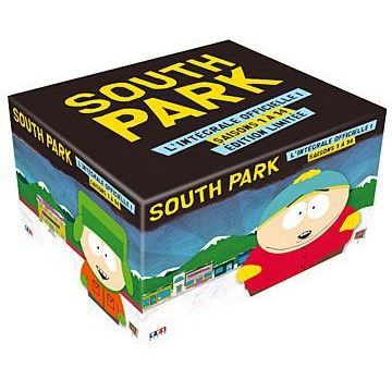 dvd coffret int grale south park en dvd s rie pas cher. Black Bedroom Furniture Sets. Home Design Ideas