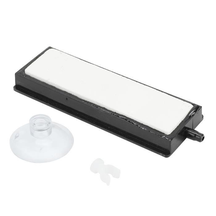 Diffuseur de bulle de pompe à oxygène de raffinerie d'aération de réservoir de poissons de barre Aquarium Nano Air Stone(L)-SPR