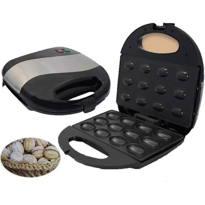 GAUFRIER HHRen Nut Maker Noix Gaufrier Maison de Noix Noix de Machine Machine gacircteau Fer Donne 12178