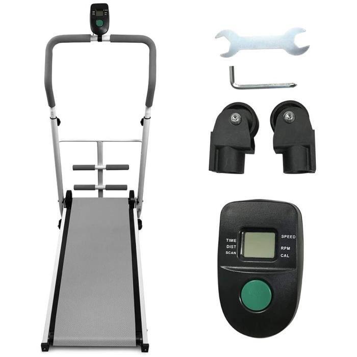 TAPIS DE COURSE Tapis de Course Pliable, Tapis de Course de Bureau Sport pour Marche, Jogging et Fitness, 88x43.5x110cm27