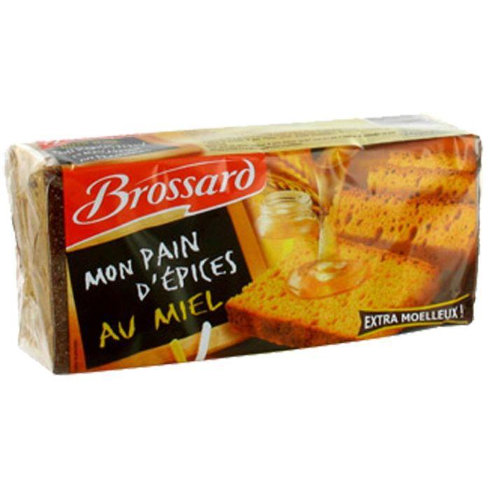 Pain d'épices au miel 350 g Brossard