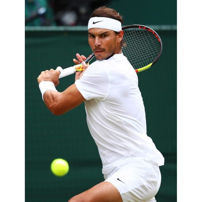 Poster Affiche Revers Puissant Rafael Nadal Tennis Superstar Sport 31cm x 41cm