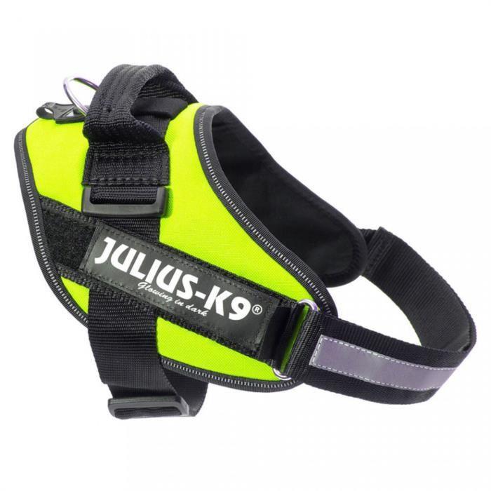Julius K9 IDC Harnais pour chiens Taille 2 Vert Néon 16IDC-NE-2