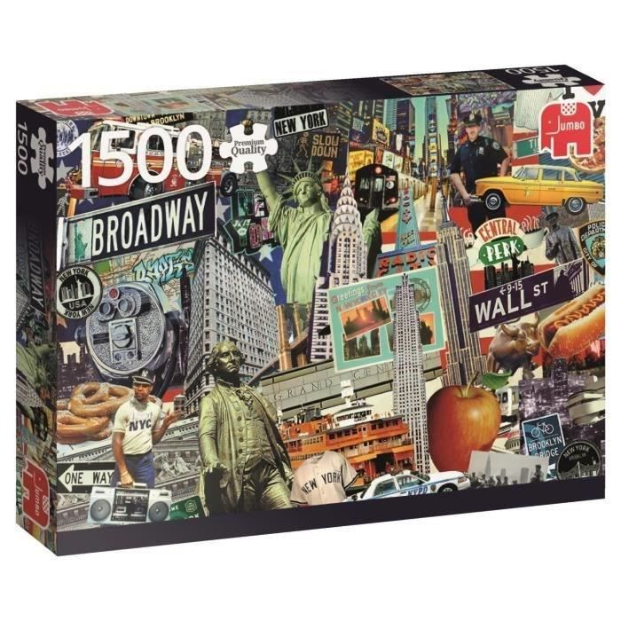 JUMBO Puzzle 1500 - Best of... New York