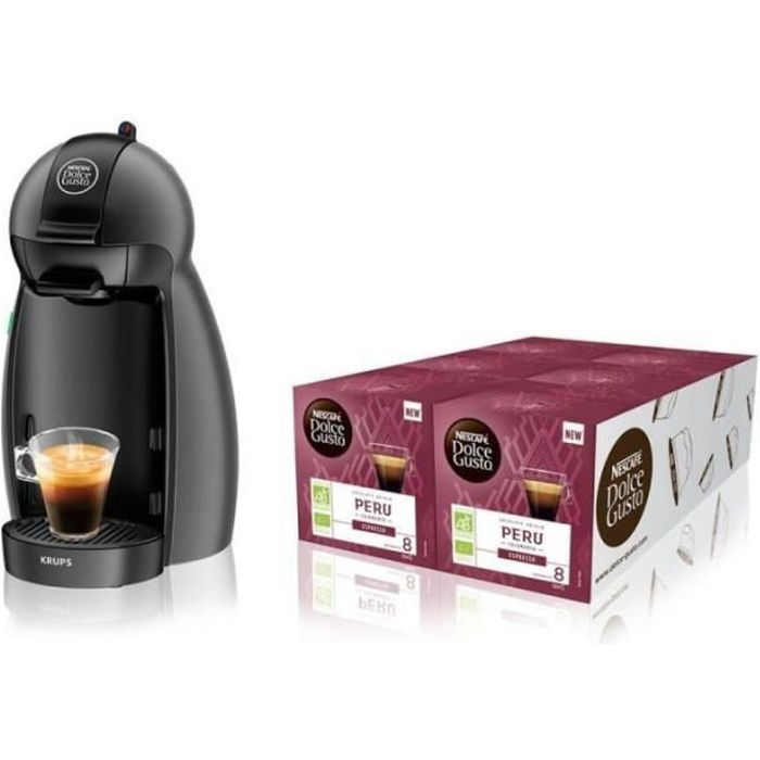 Krups Expresso à dosette Dolce Gusto YY4099FD Anthracite