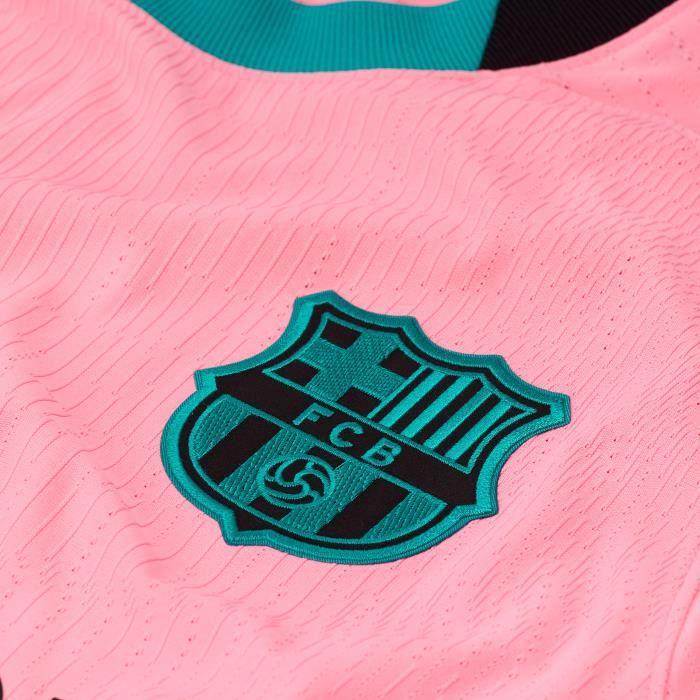 Maillot third Barcelone Vapor 2020/21 - rose/noir - XL