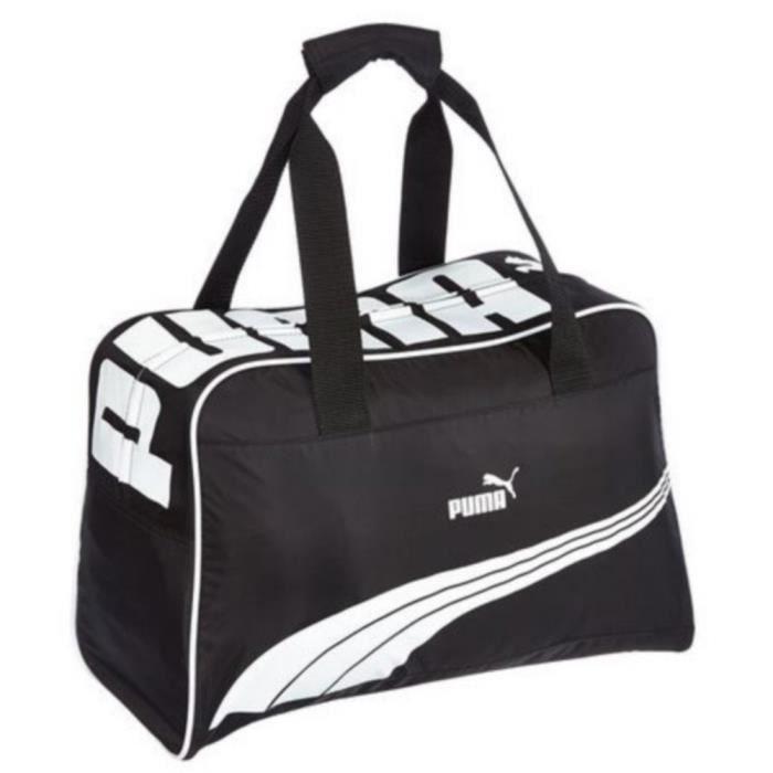 Sac De Sport Puma Collector Sole Noir et Blanc