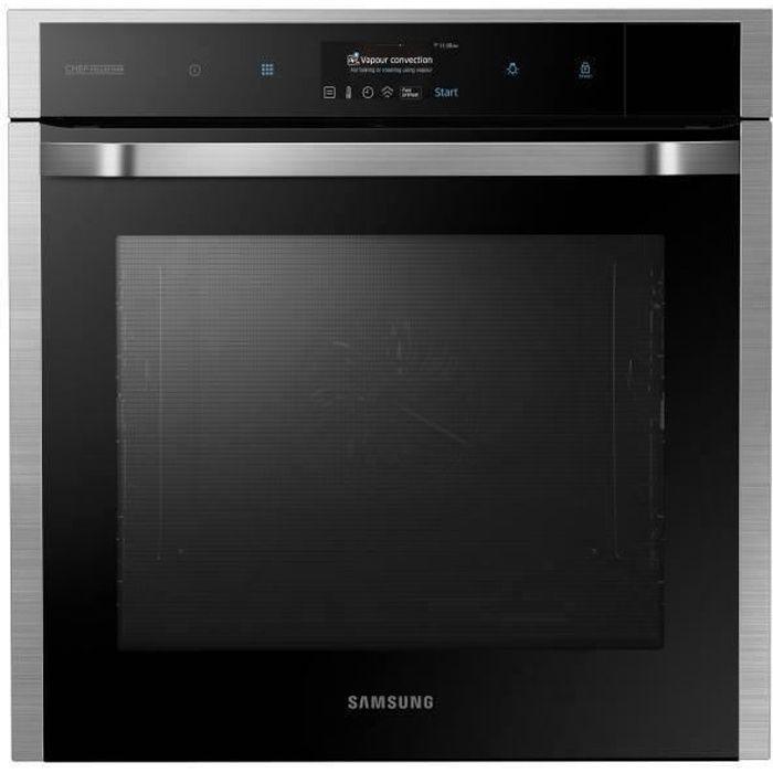 Samsung - Four Vapor Cook 73L - NV73J9770RS/EF - 80 programmes - A+ - Silver