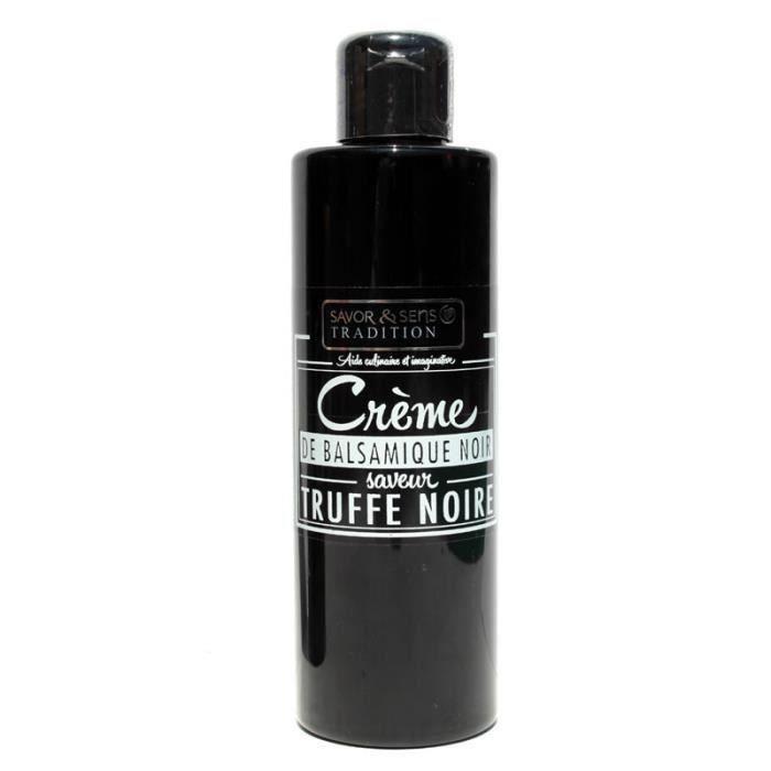 Crème de Vinaigre Balsamique Noir saveur Truffe - 200mL