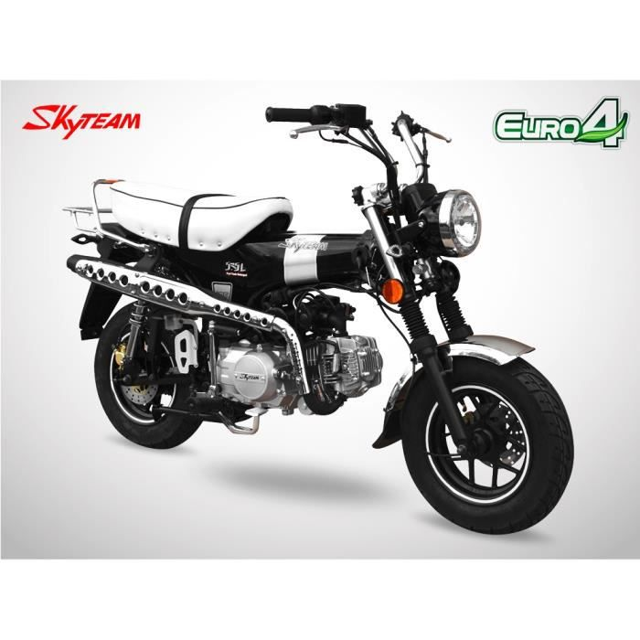 Mini Moto - DAX 125 - Noir - SKYTEAM