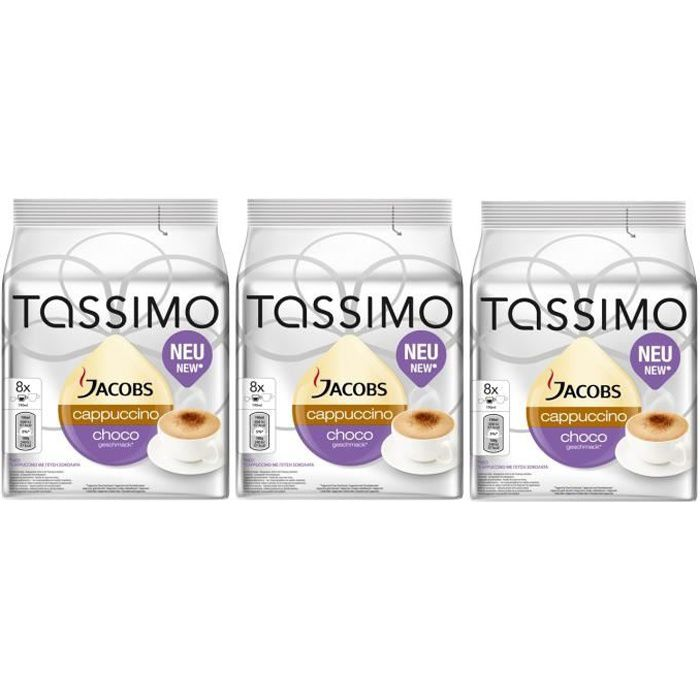 TASSIMO Jacobs Cappuccino Choco 24 Dosettes