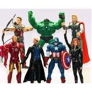 POUPÉE YSF@ 7pieces Avengers 2 main pour faire Thor, Iron