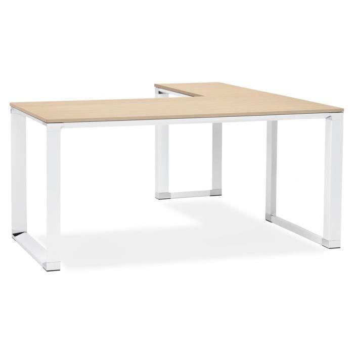 BUREAU  HO - Bureau XLINE bois finition naturelle - 170x16