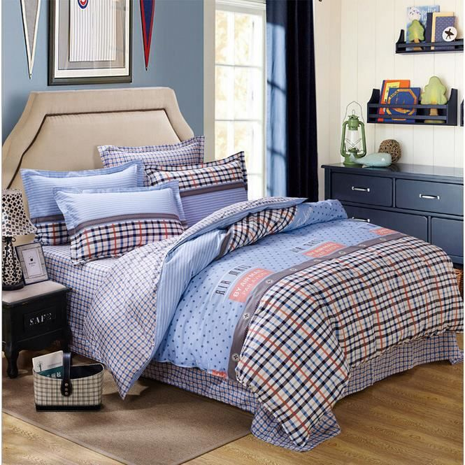 housse de couette de marque bedding set 2 taies 240 x 220 cm 001 achat vente parure de. Black Bedroom Furniture Sets. Home Design Ideas