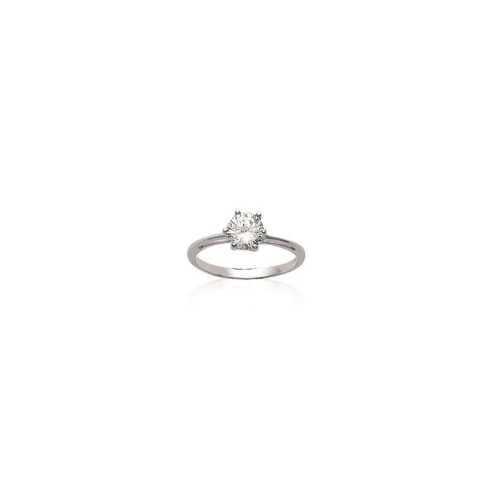 bague solitaire taille 50