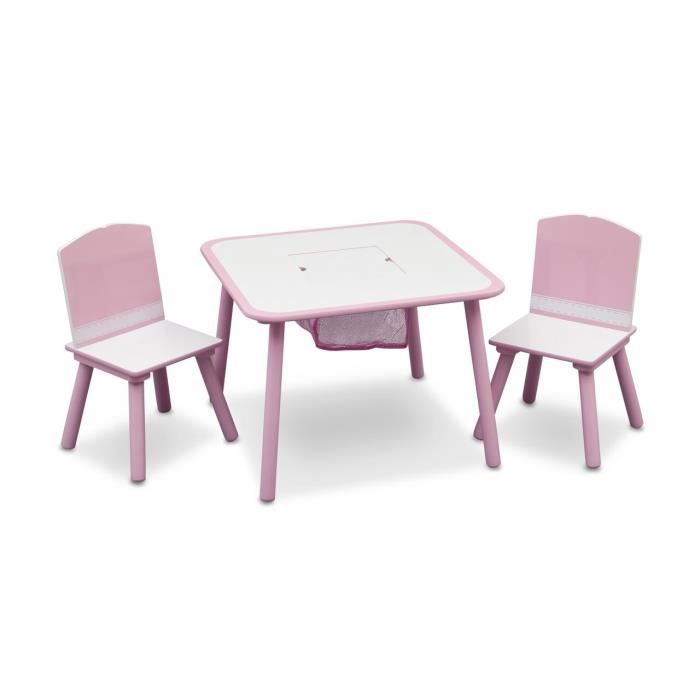 Table et chaises rose achat vente table et chaise for Table et chaise bebe 2 ans