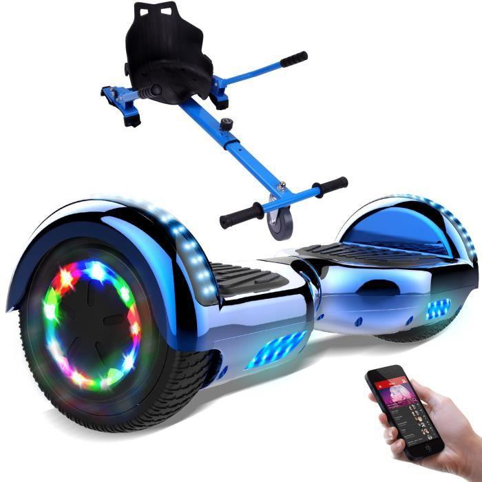 Photo de geekme-gyropode-hoverboard-6-5-pouces-electrique-scooter-bluetooth-integre