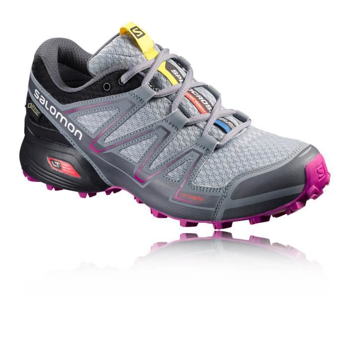 e91a1a28e1e Salomon Speedcross Vario Gore-Tex Femme Chaussures Course Trial Multicolore