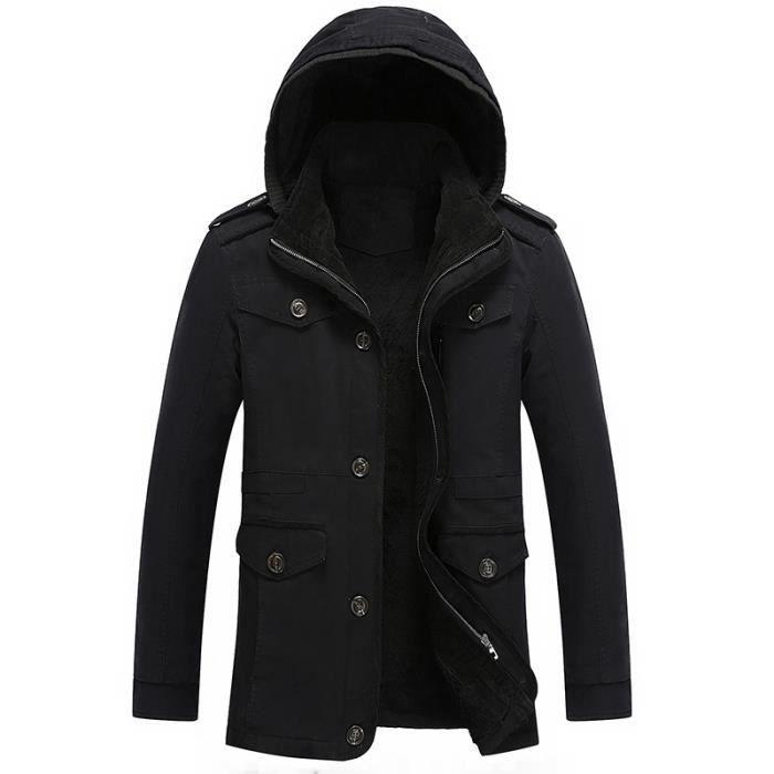 Manteau homme noir