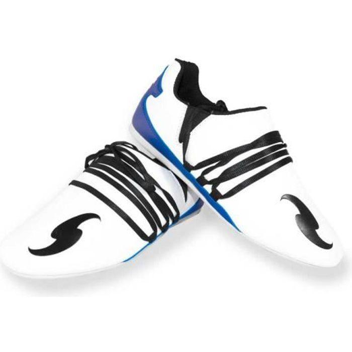 DORAWON, Chaussures arts martiaux SUWON, blanc et bleu