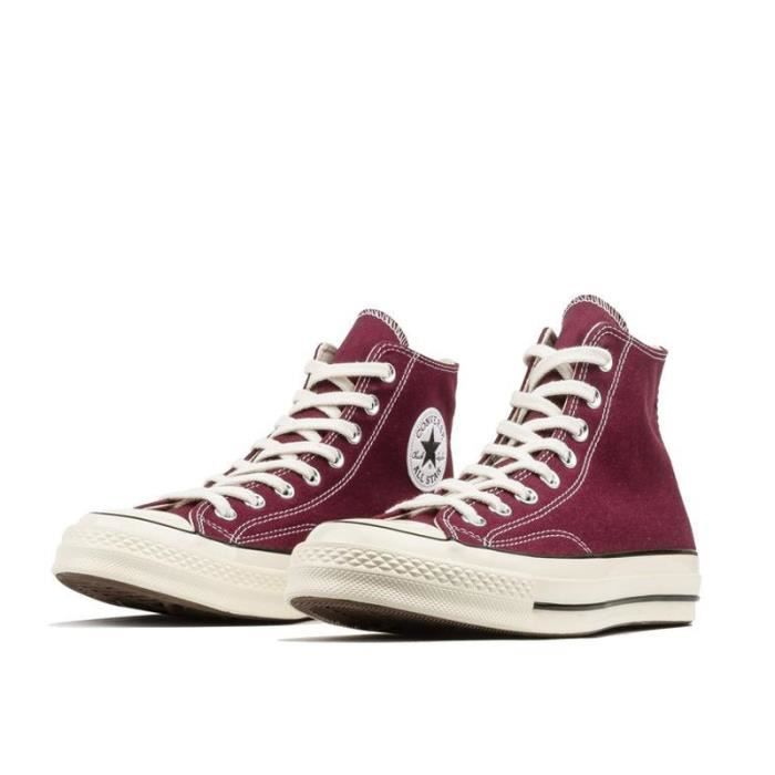 converse rouge cdiscount