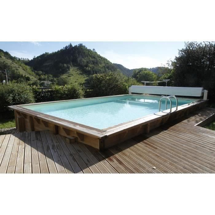 piscine hors sol bois hauteur 140 achat vente piscine. Black Bedroom Furniture Sets. Home Design Ideas