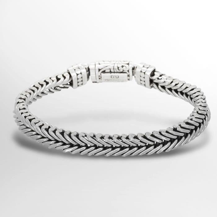 bracelet argent homme 925