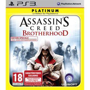 JEU PS3 ASSASSIN'S CREED BROTHERHOOD RELAUNCH / Jeu PS3