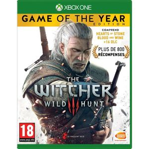 JEU XBOX ONE The Witcher 3 : Wild Hunt Goty Edition Jeu Xbox On