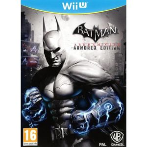 JEU WII U Batman Arkham City Armored Edition Jeu Wii U