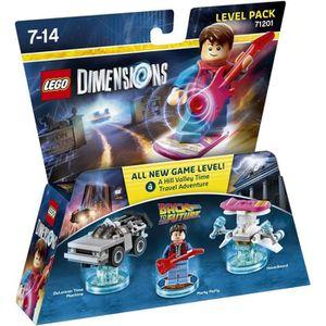 FIGURINE DE JEU Figurine LEGO Dimensions - Marty McFly - Retour ve