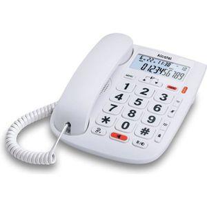 Téléphone fixe sénior Alcatel TMax 20 - Larges Touches pour Les séniors,