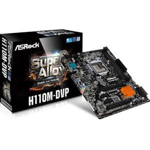 CARTE MÈRE ASRock H110 PRO BTC+, Intel H110 Mainboard - Socke
