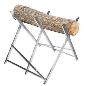 FER À CHEVAL - SPIRALE Pliable 6 dents scie cadre en bois pliant cheval d