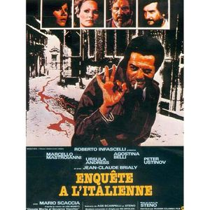 AFFICHE - POSTER Enquête A l'Italienne - 1978 - Ursula Andress - 60