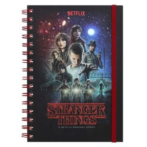 Carnet spirales A5 Pyramid Stranger Things