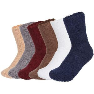Cosy toes bleu et gris femme tricot cheville chaussons chaussettes taille 4-7 neuf adultes